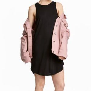 3/$25🌟 H&M Basic Black Tank Top Dress